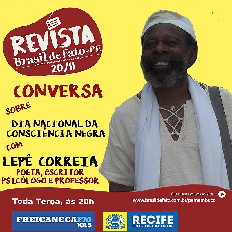 Lepê Correia compartilha histórias, poesias e opiniões