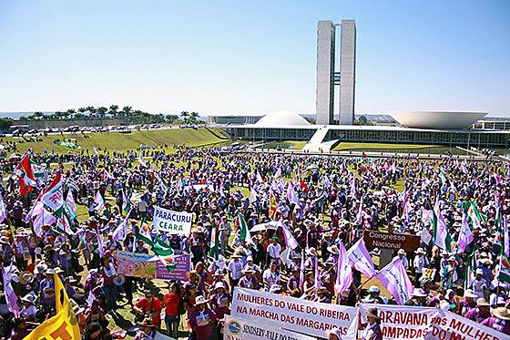 Margaridas irão apresentar uma plataforma de demandas para a sociedade e o poder público