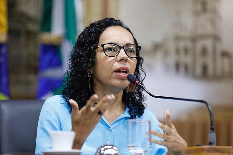 Divaneide é a primeira mulher negra a ocupar a Câmara Municipal de Natal