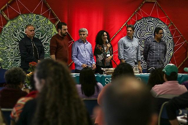 La carta fue presentada en un acto público este sábado (08) que contó con la presencia de políticos progresistas brasileños
