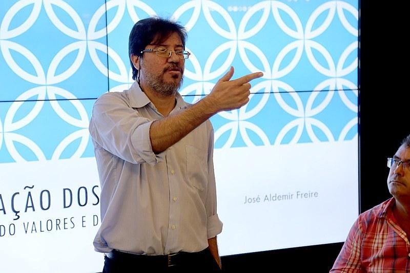 Secretário de Estado do Planejamento e das Finanças, Aldemir Freire