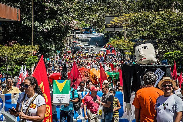 No ano passado, o 24º Grito dos Excluídos reuniu milhares de pessoas em Belo Horizonte