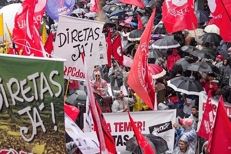 Manifestação em São Paulo, na região da Avenida Paulista, reuniu cerca de 20 mil pessoas