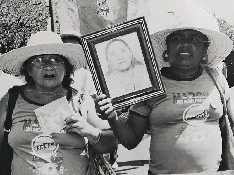 Maria da Soledade e Luzia Soares, companheiras de Margarida que nos ajudam a contar sua história
