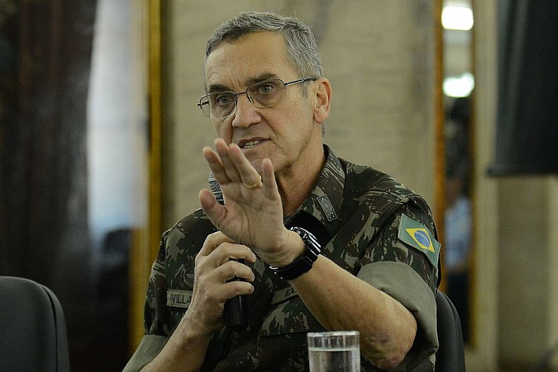 O comandante do Exército Villas Bôas declarou o que declarou e nada aconteceu, porque o lesa pátria Michel Temer ficou em silêncio total