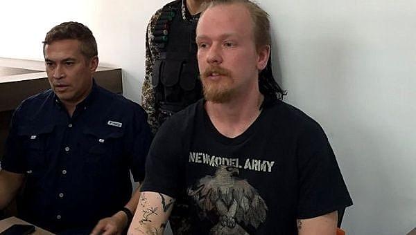 Bini durante audiência de custódia que garantiu o direito de responder em liberdade
