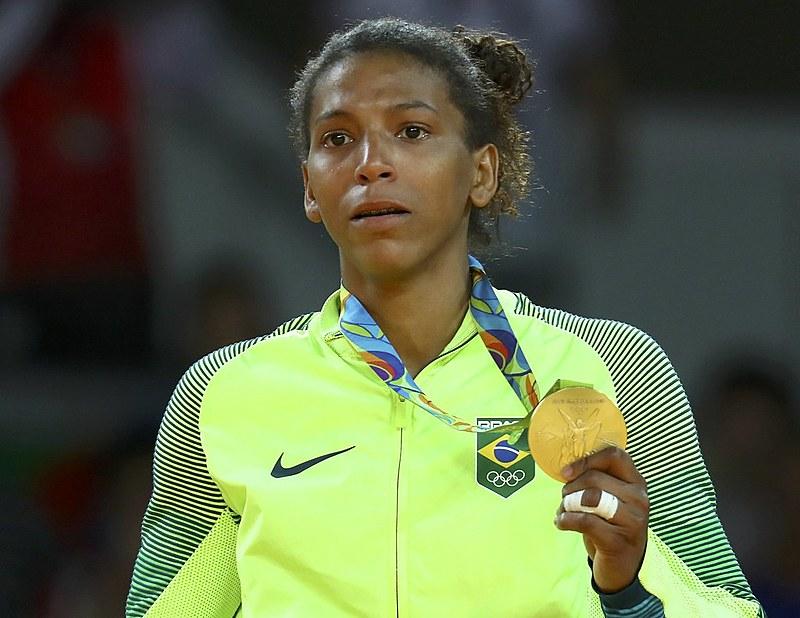 Rafaela Silva, judoca brasileira