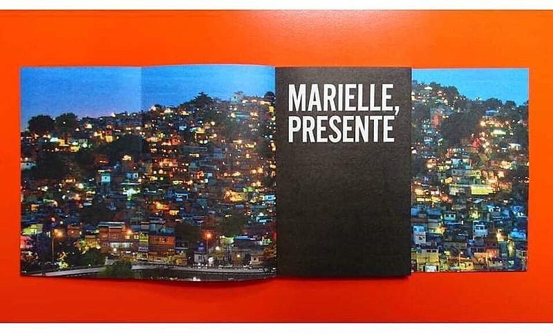 Livro é resultado da dissertação de mestrado de Marielle, que estudou Administração Pública na Universidade Federal Fluminense (UFF)
