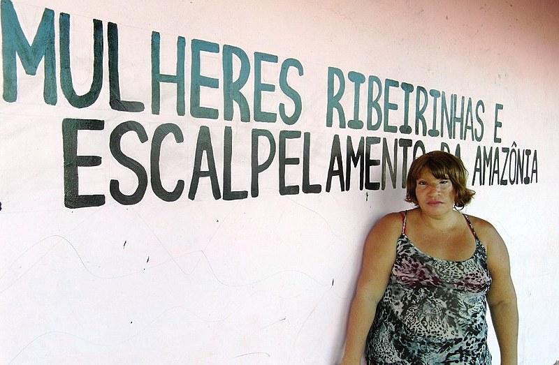 Maria do Socorro, vítima de escalpelamento na Amazônia e que hoje luta para ajudar outras mulheres a enfrentarem o preconceito