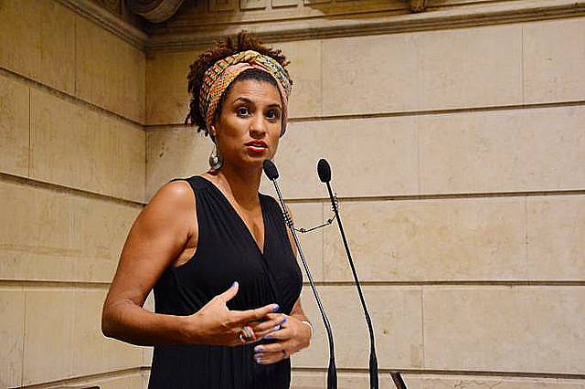 La concejala de la ciudad de Rio de Janeiro, Marielle Franco, fue asesinada a balazos en marzo de este año