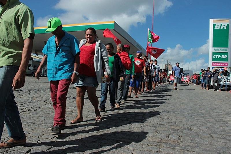 Trabalhadores rurais da Paraíba ocuparam duas fazendas e a sede do Incra; atos fazem parte da jornada de lutas