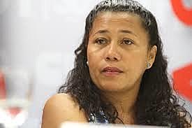 Vice-presidenta da CUT, CarmenForo.
