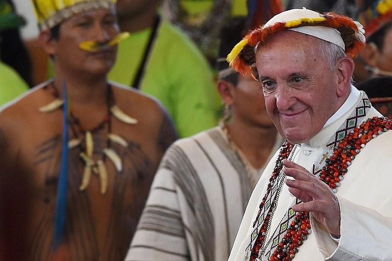 O Papa Francisco convocou o Sínodo de Bispos da Amazônia, que acontece em outubro em Roma