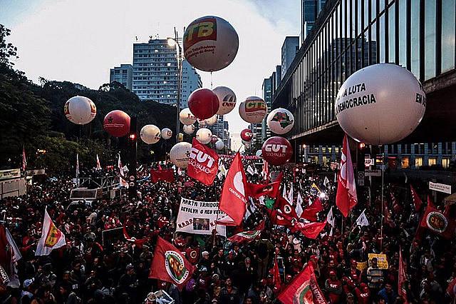 Centrais sindicais farão atos de encerramento da Greve Geral nas maiores cidades do país