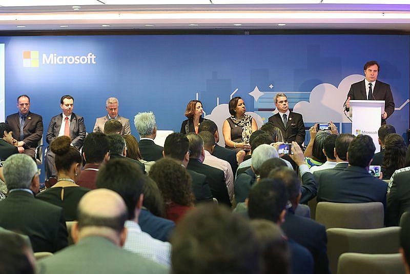 Lançamento do Centro de Transparência da Microsoft, em outubro deste ano