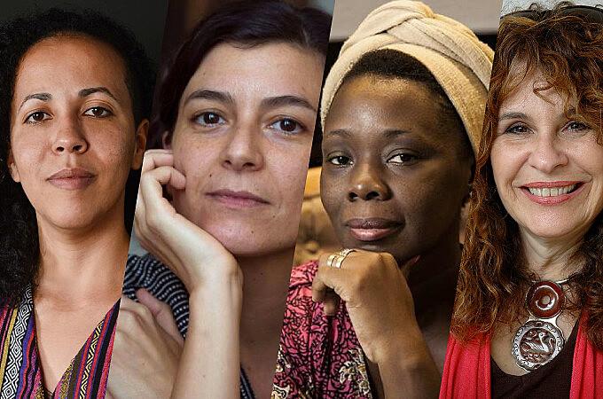 Samanta Schweblin (ARG), Lubi Prates (BR), Teresa Cárdenas (CUB) e Gioconda Belli (NIC), escritoras latino-americanas contemporâneas