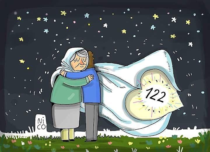 Avós da Praça de Maio encontram neto 122