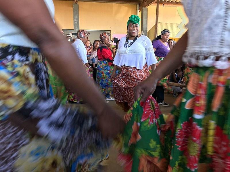 Festa no na Comunidade quilombola Família Xavier, em Arapoti