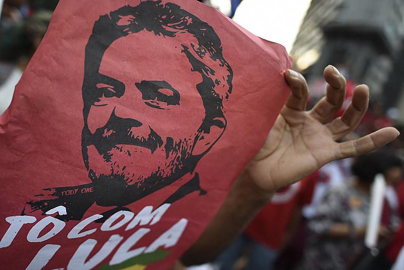 Ex-presidente Luiz Inácio Lula da Silva está preso em Curitiba desde o dia 7 de abril de 2018