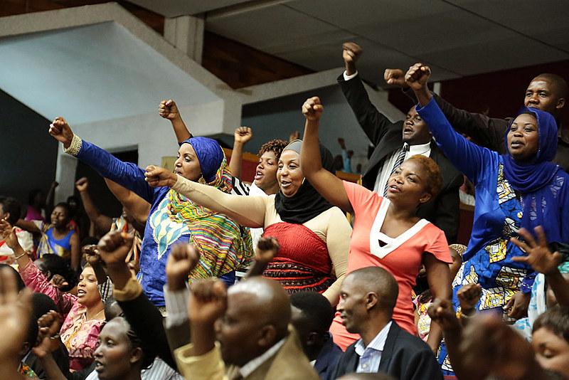 Atualmente, 67% dos cargos do legislativo ruandês são ocupados por mulheres
