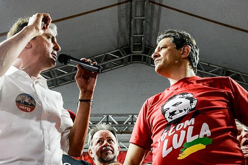 O governador  petista Camilo Santana teve o maior percentual de votos válidos no Ceará; 79,96%