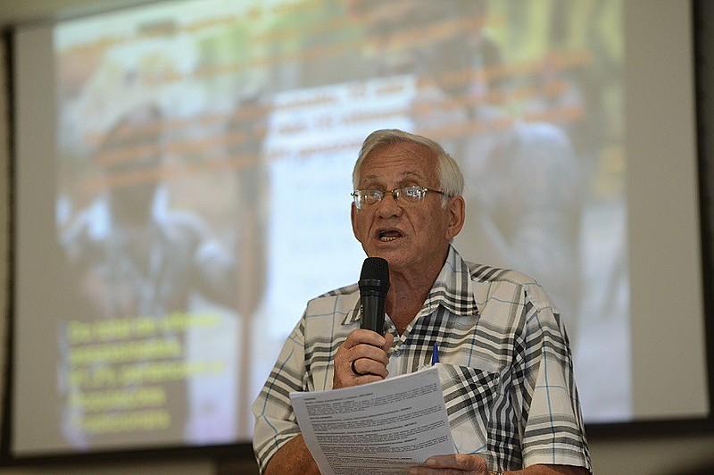 O secretário da Coordenação Nacional da CPT, Antônio Canuto.