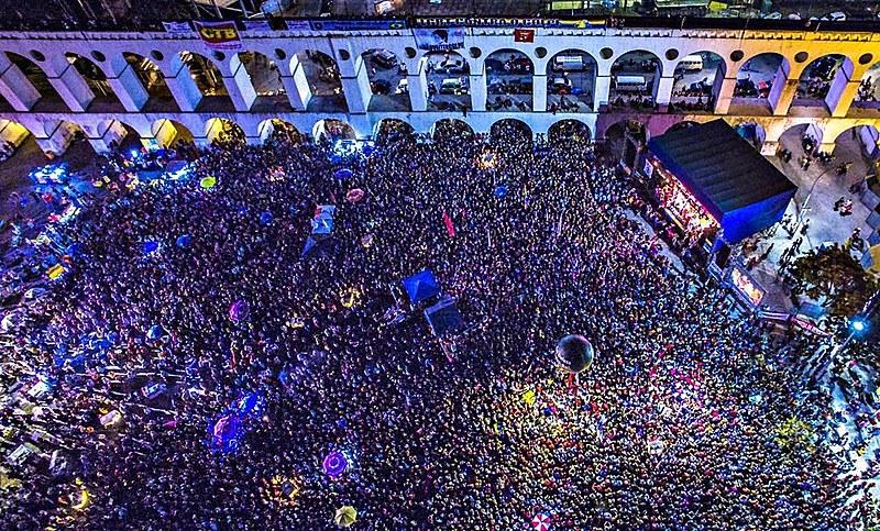 Ato no Rio de Janeiro reuniu cerca de 70 mil pessoas.