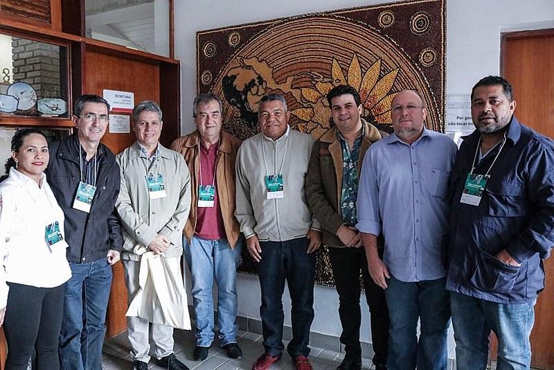 Deputados federais do Partido dos Trabalhadores estiveram presentes no encontro, que acontece na Escola Nacional Florestan Fernandes (ENFF)