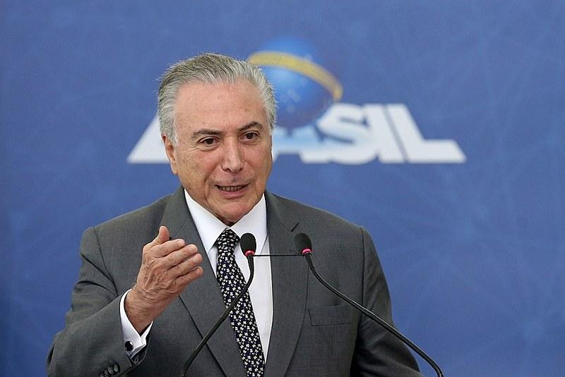 Michel Temer (MDB) deve fazer pronunciamento na noite desta sexta (16) sobre decreto que institui intervenção militar no Rio de Janeiro