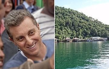 Apresentador cercou a mansão com boias e redes, na Ilha das Palmeiras, sem autorização ambiental