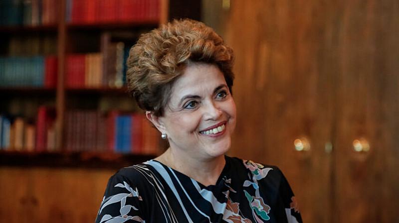 A presidenta afastada considera misóginas e machistas as agressões de revista