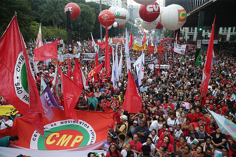 Ato unificado em São Paulo será realizado no Vale do Anhangabaú, com presença de artistas famosos