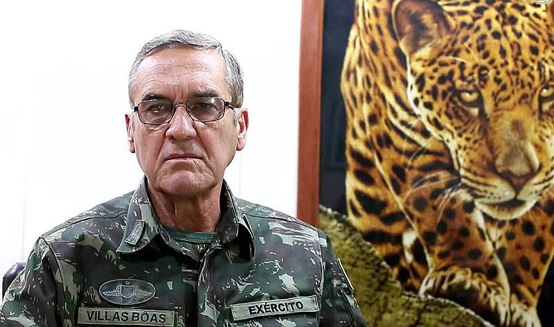 Comandante do Exército brasileiro, Eduardo Villas Bôas defendeu a quebra da ordem constitucional ocorrida em abril de 1964
