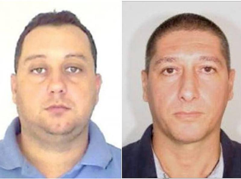 Élcio Queiroz (esq.) e Ronnie Lessa (dir.) são principais suspeitos de executarem o crime