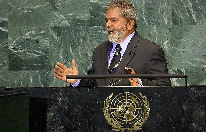 O ex-presidente Lula participa da assembleia geral da ONU, em 2009