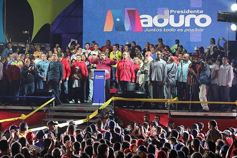 Em discurso, Maduro sinalizou que Venezuela não depende de reconhecimento internacional para respeitar sua própria legislação