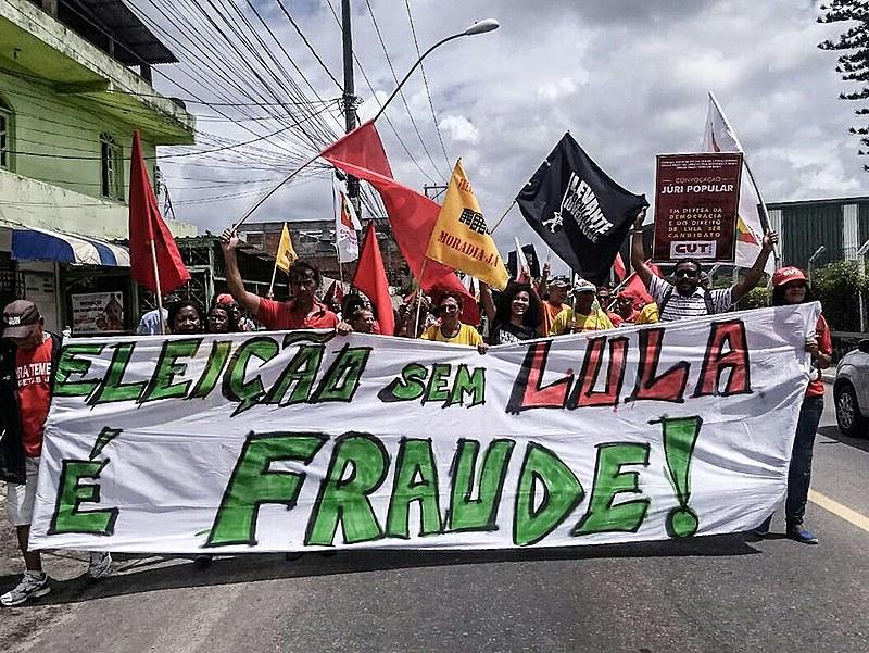 """Carnaval de 2018 será tomado pela palavra de ordem """"Eleição sem Lula é fraude""""."""