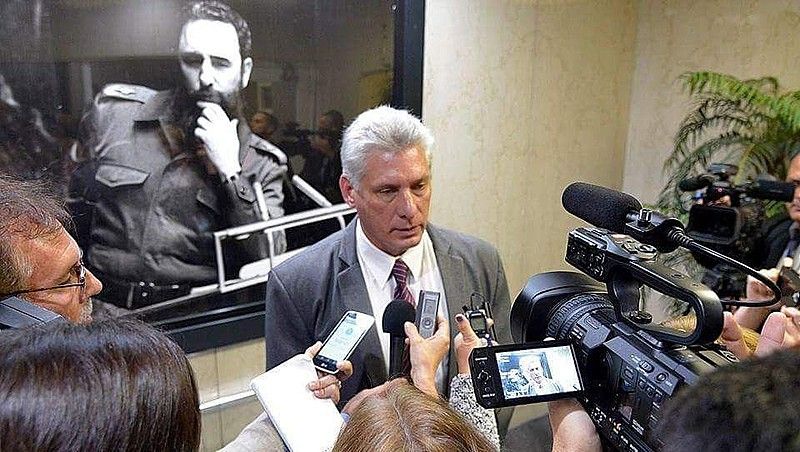 Ao chegar em Nova York, Díaz-Canel falou à imprensa e anunciou que vai denunciar o bloqueio em sua primeira participação na Assembleia