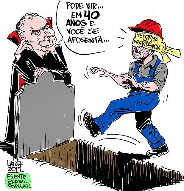 """""""É a hora de todo o povo brasileiro, que constrói com sangue e suor este país, assumir a história nas mãos"""""""