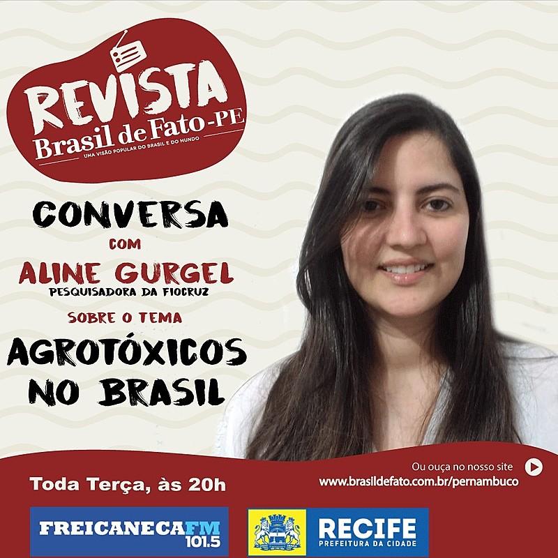Aline Gurgel analisou a produção de alimentos e apresentou propostas para uma alimentação saudável