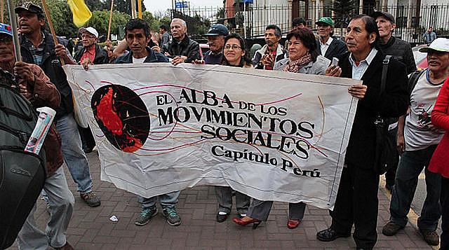Capítulo Perú de Alba Movimentos
