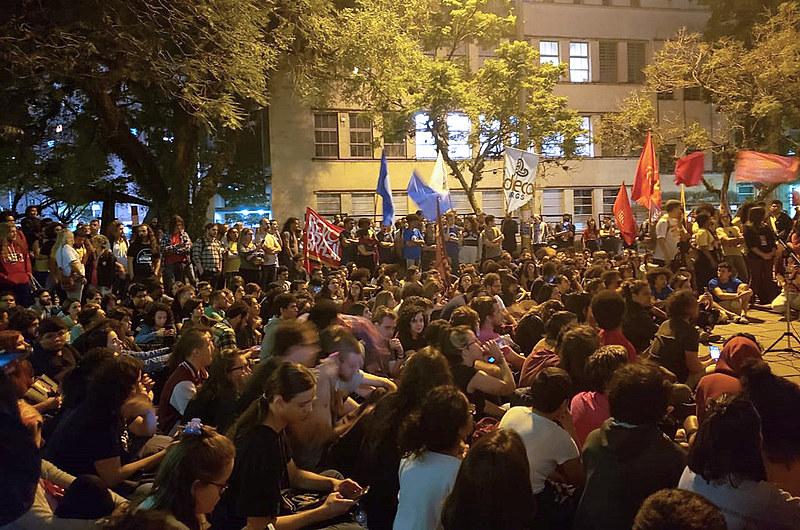 Entre as atividades da greve está manifestação nas ruas, com saída da Faced, até a Esquina Democrática, no dia 3