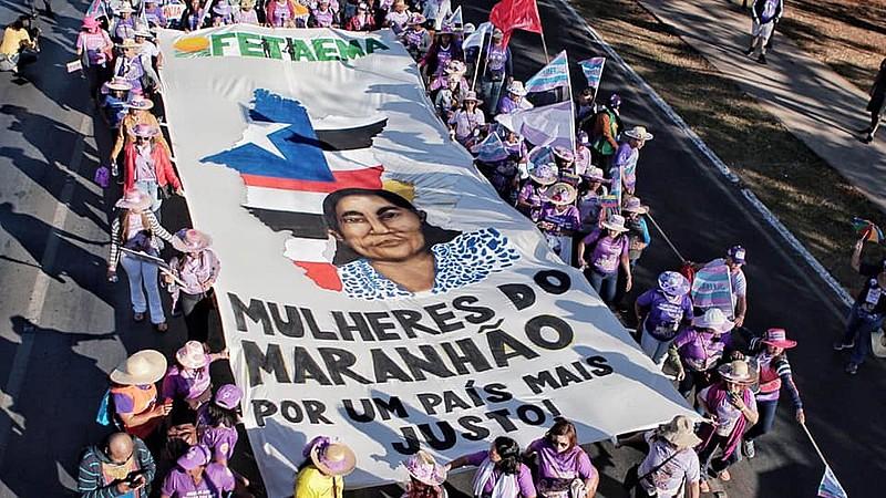 Marcha  é a maior ação conjunta de mulheres trabalhadoras da América Latina