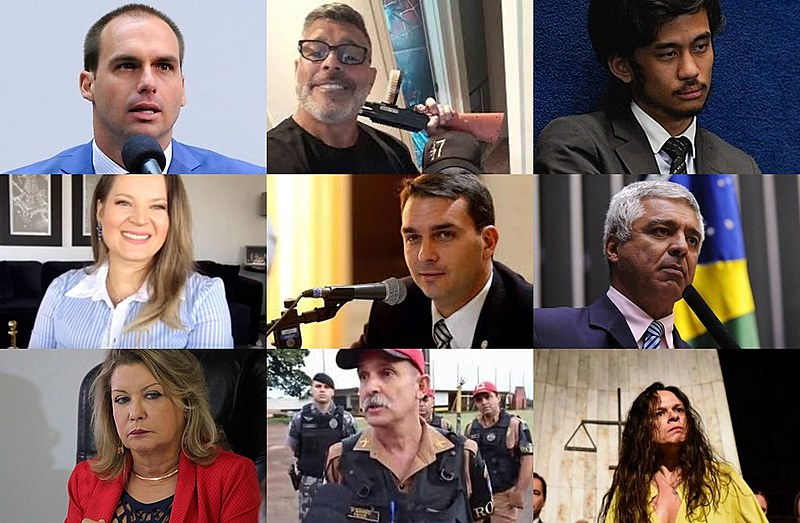 O PSL elegeu 52 deputados e se tornou a segunda maior bancada da Câmara dos Deputados