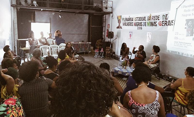 Primeira atividade organizativa, em 2019, da Rede de Mulheres Negras de Minas Gerais aconteceu no sábado (23)