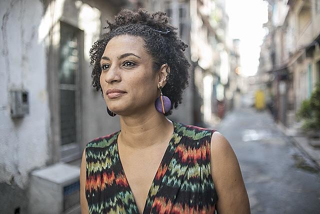 Ação do PSOL questiona censura à imagem de Marielle Franco