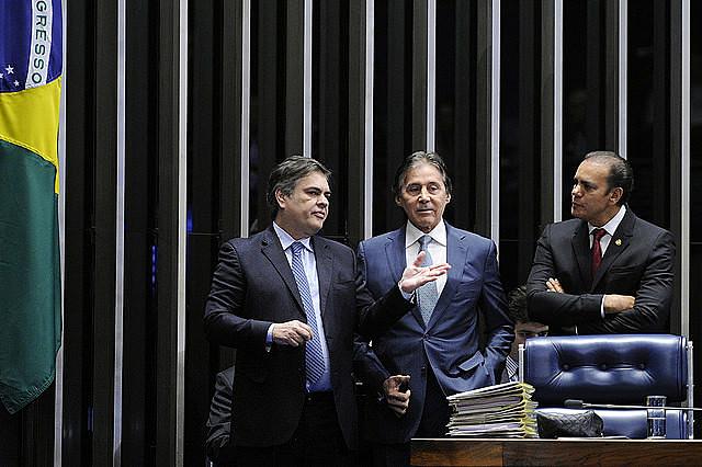 Plenario del Senado Federal durante la sesión deliberativa extraordinaria destinada a la votación de la Reforma Laboral PLC 38/2017