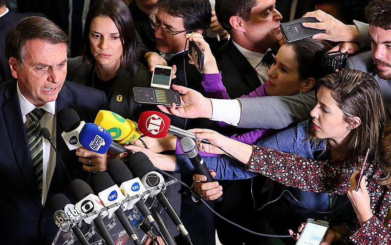 Primeiro ano de governo Bolsonaro afetou significativamente a liberdade de imprensa no Brasil
