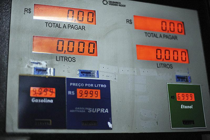 Alta dos combustíveis foi causada pela nova política de preços da Petrobras