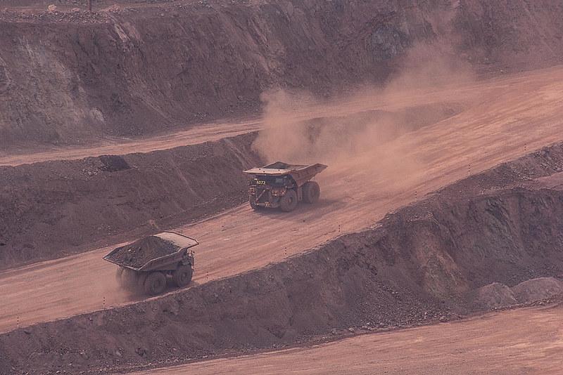 Trabalhadores na mineração